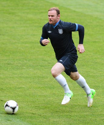 UEFA Euro 2012: Rooney itching to play says Gerrard