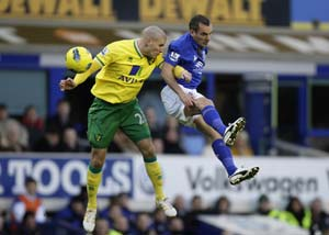 Osman earns Everton a draw against Norwich