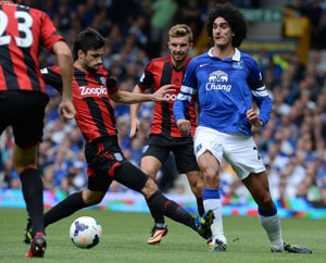Everton denied on Roberto Martinez's home debut