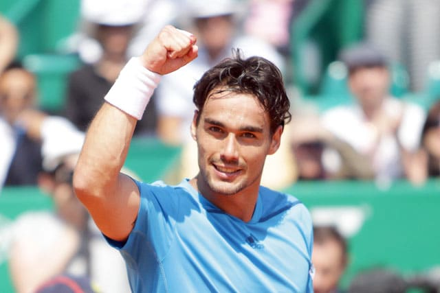 Fabio Fognini, Tommy Robredo advance to second round of Monte Carlo Masters