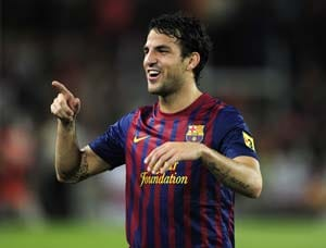 Fabregas eyes golden start with Barcelona