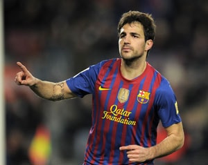 Fabregas inspires Barcelona to Cup final spot