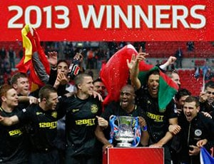 Wigan Athletic shock Manchester City 1-0 to win the FA Cup