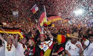 Euro 2012: Germany in the dock again over fans - UEFA