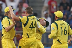 1st ODI Live Cricket Score: James Faulkner, Shane Watson, Brad Haddin and Aaron Finch