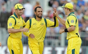 Fawad Ahmed unmoved by logo row, says Aussie vice-captain George Bailey
