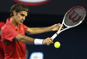 Age is just a number for red-hot Federer