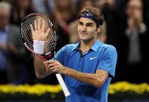 Federer targets another record in London