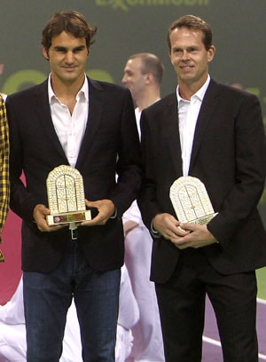 Roger Federer signs up