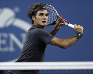 Federer matches Agassi for Grand Slam wins