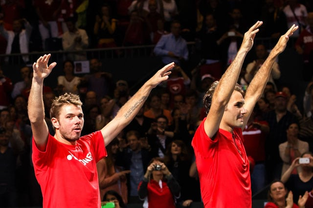 Davis Cup: Switzerland, Italy and France enter semi-finals