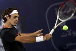 Roger Federer in Dubai to show revival is real