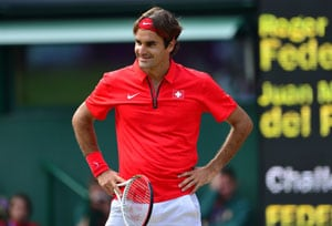 London 2012: Roger Federer into final in record three-setter