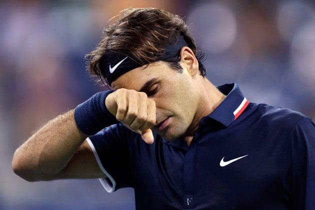 Roger Federer crashes out of US Open