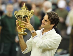 Roger Federer driven on by fatherhood, age