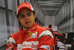 Chinese Grand Prix: Felipe Massa fastest in 2nd practice