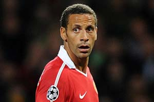 Ferdinand out of Benfica clash