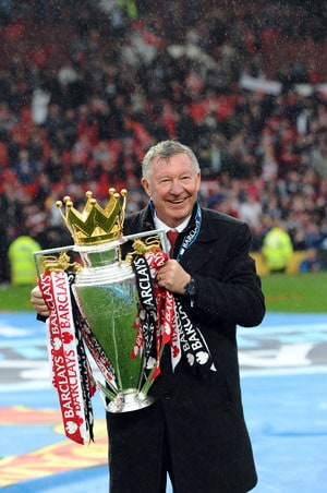 I will watch rather than suffer, says Alex Ferguson in farewell speech