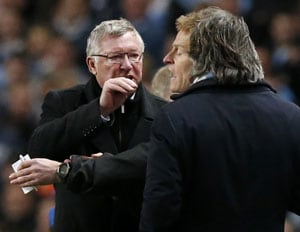 Ferguson accuses Mancini after Manchester City beat United