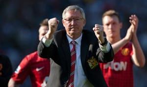 Manchester United look forward after Ferguson says goodbye