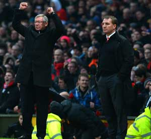 Defeating Liverpool still fires up United's Alex Ferguson