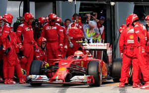 Ferrari admits that it will be hard to catch up with Mercedes in this F1 season