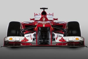 Ferrari launches its new F138 car for 2013
