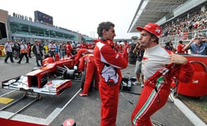 Ferrari vows not to surrender despite Vettel's charge