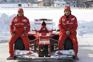 In-form Ferrari ready to battle for title