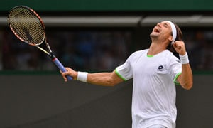 Wimbledon 2013: David Ferrer wins 5-setter to reach 4th round