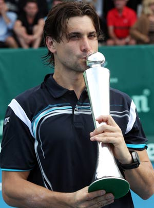 Ferrer too good for Rochus in Auckland final