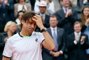 French Open: Weather gods unkind to David Ferrer