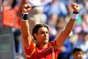 David Ferrer tops Sam Querrey for 1-0 Davis Cup lead