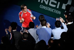 Ferrer becomes first Spaniard to win Paris Masters