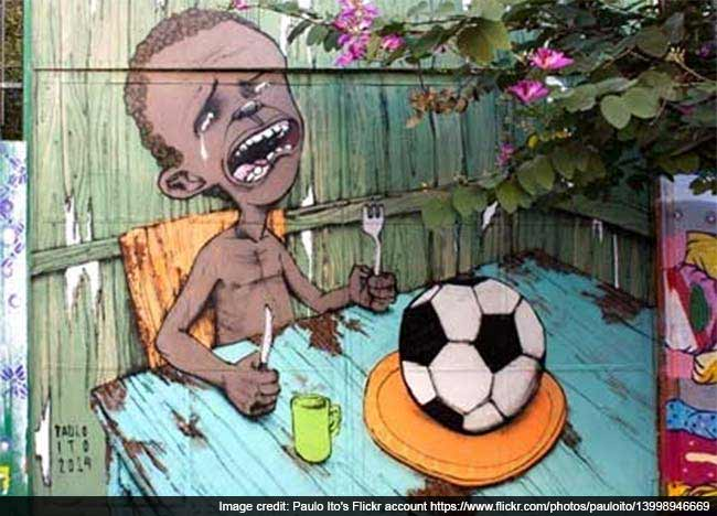 FIFA World Cup: Playing On Empty Stomach? Viral Image Takes Web By Storm