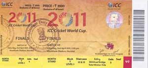 Cricket shocker: 405 World Cup final tickets went unsold