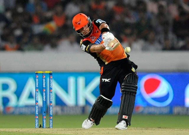 Sunrisers Hyderabad Lost to Mumbai Indians Because of Me: Aaron Finch