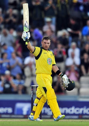 Aaron Finch eyes long-term spot in Australian team after T20 world record 156 vs England