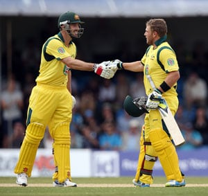 Aaron Finch, Shaun Marsh hit tons as Australia beat Scotland by 200 runs