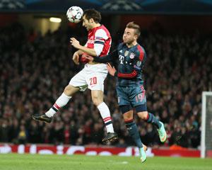 Bayern Munich showdown won't distract Arsenal, says Flamini
