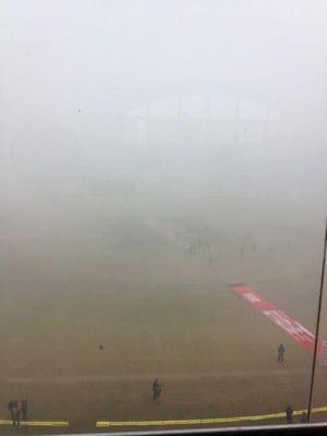 Dense fog envelops Mohali ahead of India-England ODI