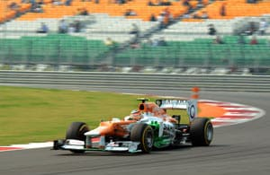 Indian F1, Qualifying session: Tough race ahead for Force India