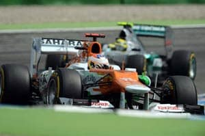 German GP: Strong qualifying session for Sahara Force India