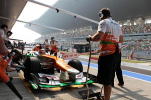 Hulkenberg praises track after his 'Indian debut'