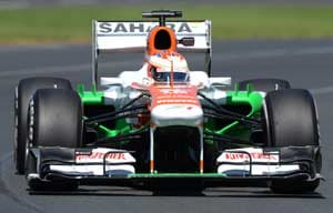 Australian Grand Prix: Adrian Sutil, Paul di Resta among the points