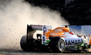 Substantial work left before Spanish F1: Paul di Resta