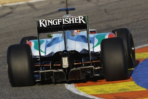 Force India launches VJM-04 for 2011 season
