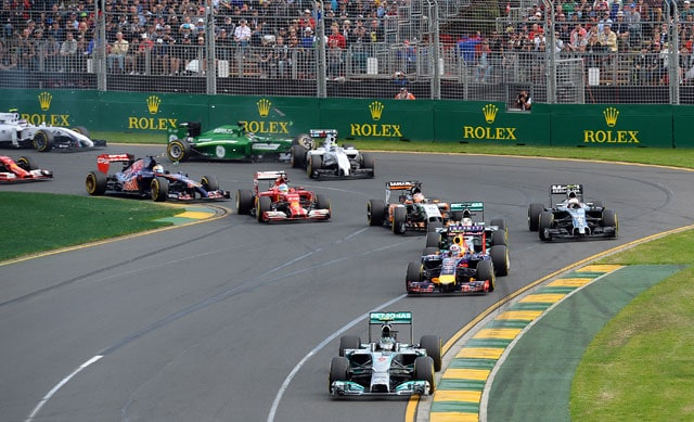 Australian Grand Prix organisers complain cars too quiet