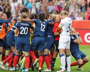 French channels to broadcast live women's football