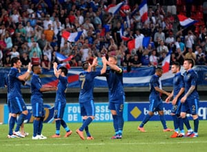 France struggle to beat Iceland in Euro warm-up